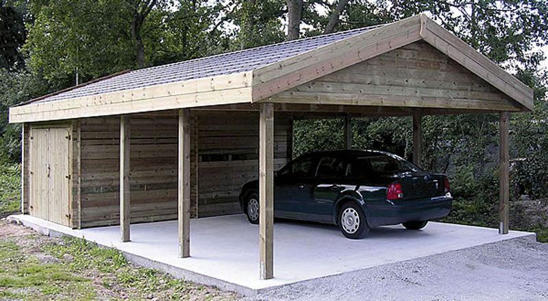Tuinhuis veranda braakman bouw Garage carports